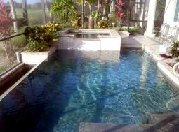D Passerri customer swimming pool pic