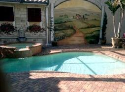 T Yoder pool cleaning customer pool pic